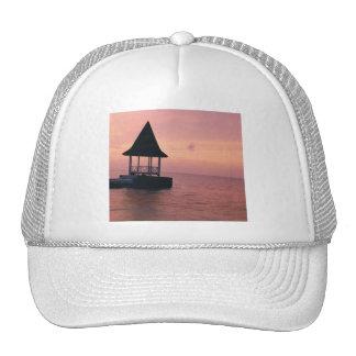Jamaica Sunset Trucker Hats