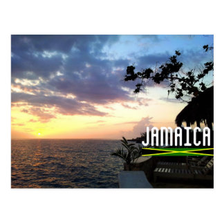 Jamaica Sunset Postcard