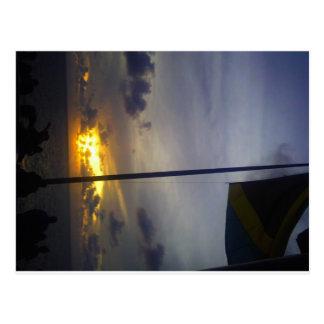 Jamaica Sunset Postcard