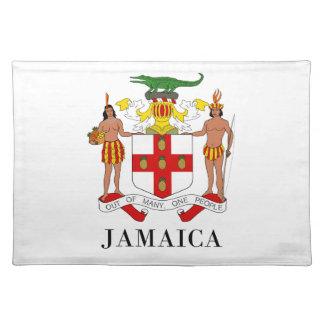 JAMAICA - symbol/coat of arms/flag/colors/emblem Placemat