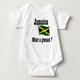 Jamaica t-shirts-what a gwaan baby bodysuit