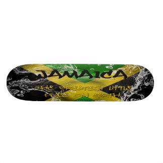 Jamaica The Greatest Little Place on Earth  Skateb 20.6 Cm Skateboard Deck