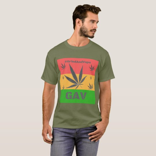 Jamaica Tribute by #GrindAndVape T-Shirt