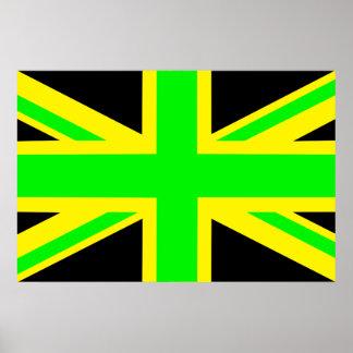 Jamaica/UK Poster