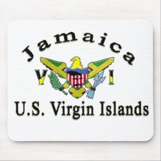 Jamaica / US Virgin Islands Mouse Mat
