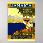 Jamaica, Vintage Travel Poster