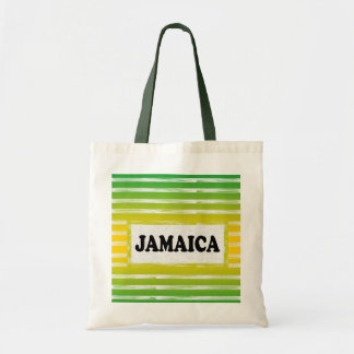 Jamaica Yellow Green Black Tote Bag
