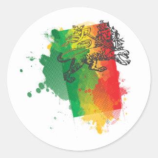 Jamaica Zion Lion Sticker
