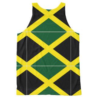 jamaican All-Over print tank top