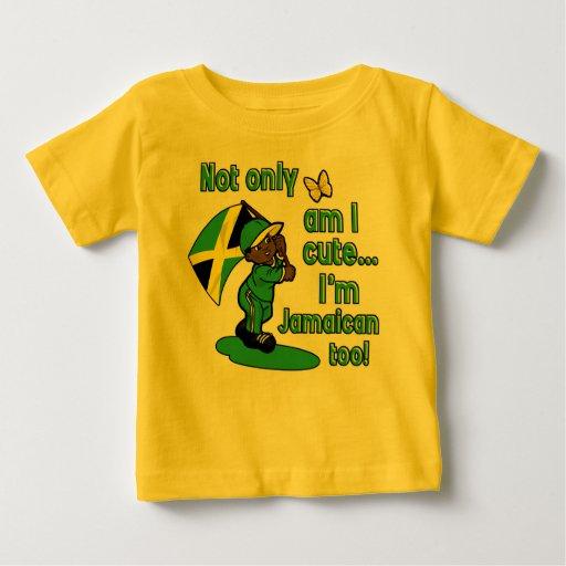 Jamaican baby design baby T-Shirt