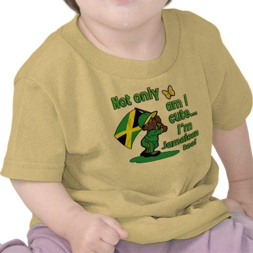 Jamaican baby design tee shirts
