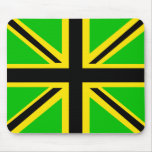 Jamaican British Flag Mousepad