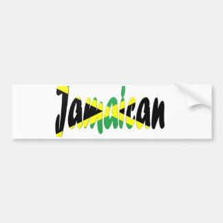 jamaican bumper sticker