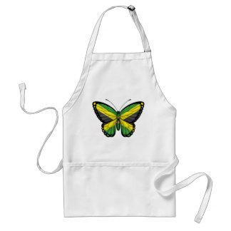 Jamaican Butterfly Flag Aprons
