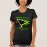 Jamaican by birth saved by the grace of God T-shirt