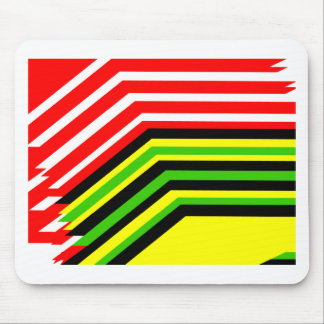 Jamaican canadian mouse pad