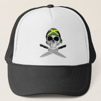 Jamaican Chef Trucker Hat