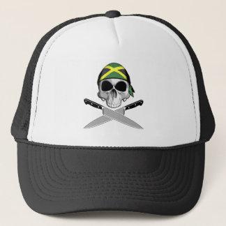 Jamaican Chef Trucker Hat