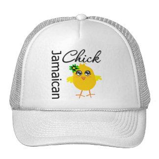 Jamaican Chick Trucker Hats