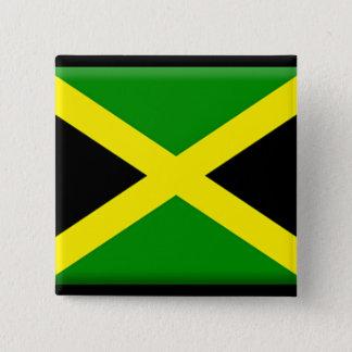 Jamaican Flag 15 Cm Square Badge
