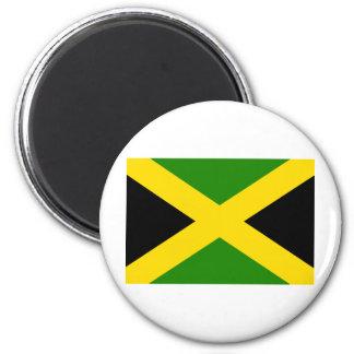 Jamaican Flag 6 Cm Round Magnet