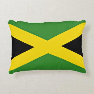 Jamaican Flag Accent Pillow