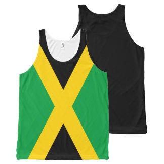 Jamaican Flag All-Over Print Tank Top
