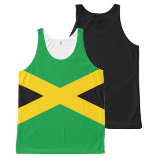 Jamaican Flag All-Over Print Tank Top