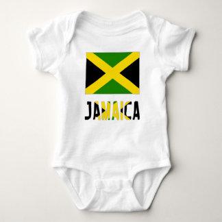 Jamaican Flag and Jamaica Baby Bodysuit
