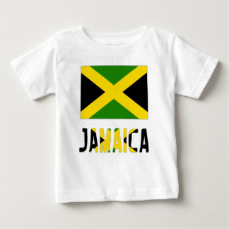 Jamaican Flag and Jamaica Baby T-Shirt