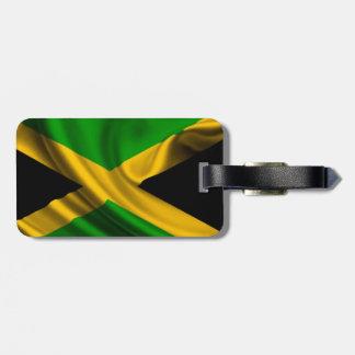 Jamaican Flag Bag Tag
