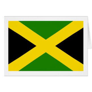 Jamaican Flag Greeting Card