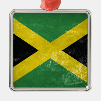 Jamaican Flag Christmas Ornament