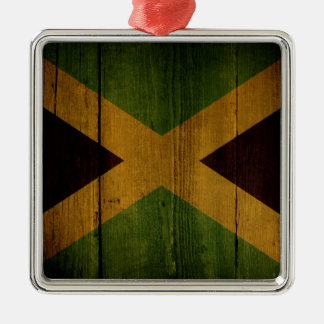 Jamaican flag. christmas ornament