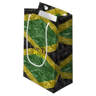 Jamaican Flag - Crinkled Small Gift Bag