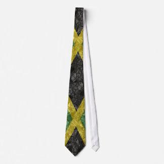 Jamaican Flag - Crinkled Tie