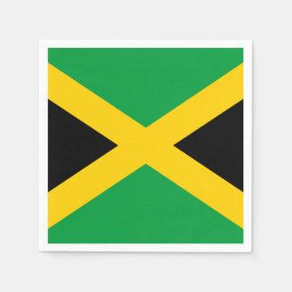 Jamaican Flag Disposable Serviette