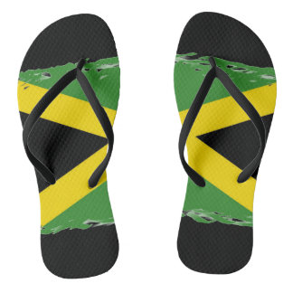 Womens jamaican flag shoes sneakers zazzle jamaican flag flip flops voltagebd Gallery