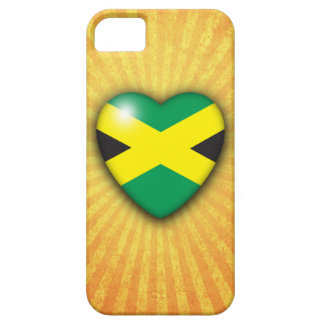 Jamaican Flag Heart iPhone 5 case