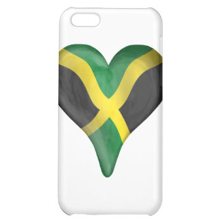Jamaican Flag In A Heart Case For iPhone 5C