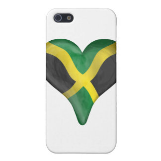 Jamaican Flag In A Heart iPhone 5 Covers