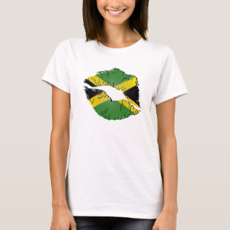 Jamaican Flag Lips T-Shirt