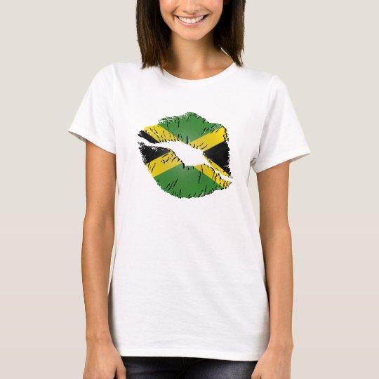 Jamaican Flag Lips T-Shirt