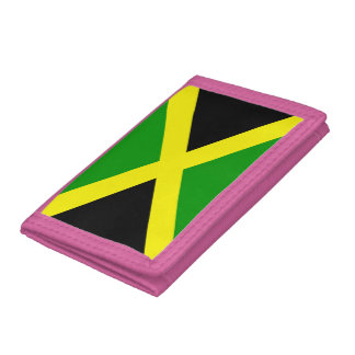 Jamaican Flag Trifold Wallet