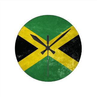 Jamaican Flag Wall Clocks
