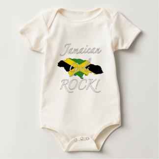 Jamaican Girls Rock! Baby Bodysuit