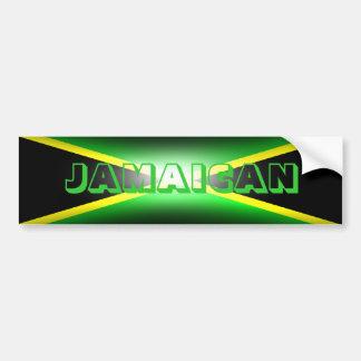 Jamaican Jamaica Bumper Sticker
