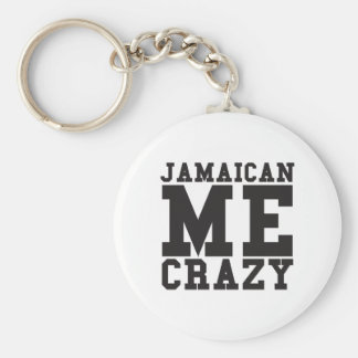 Jamaican Me Crazy Key Ring