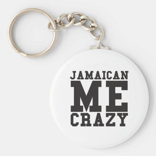 Jamaican Me Crazy Key Chains
