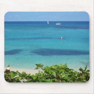 Jamaican Ocean Side Mouse Pad